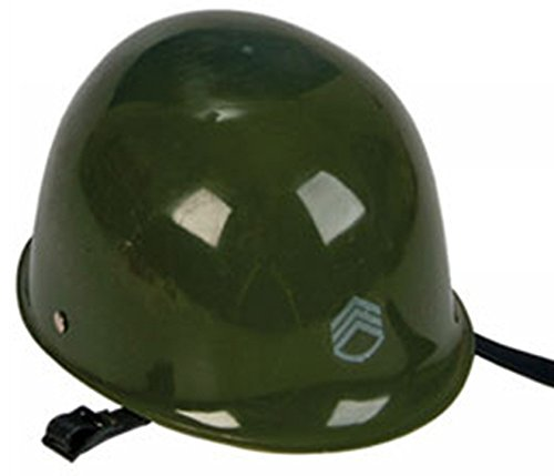 [Plastic Army Soldier Military Costume Helmet Party Hat] (Military Hat Costumes)