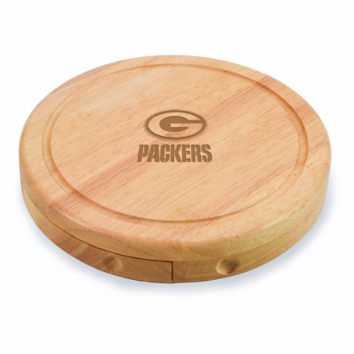 Green Packers Brie Cheese Board