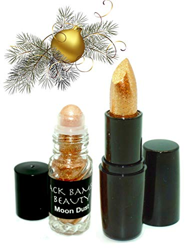 GOLD BODY GLITTER AND LIPSTICK SET   Special Offer   Includes 24K Gold Matte Moisturizing Lipstick and BONUS Gold Holographic Body Glitter   Perfect for Parties, Raves, Festivals or Celebrations  