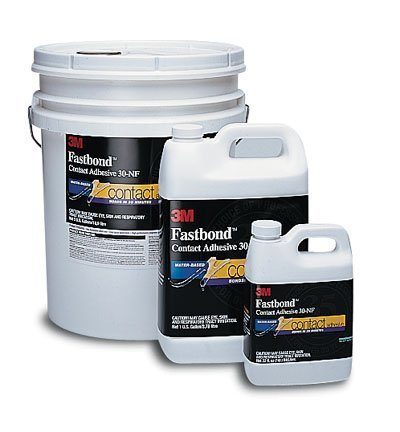 3M 21200211867 30NF Green Fastbond Contact Adhesive, 1 Gallon