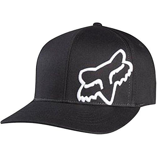 - Fox Men's 45 Flex-Fit Hat, Black/White, X Small