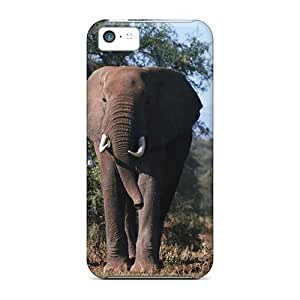 New Hard Cases Premium Iphone 5c Skin Cases Covers(african Elephants)