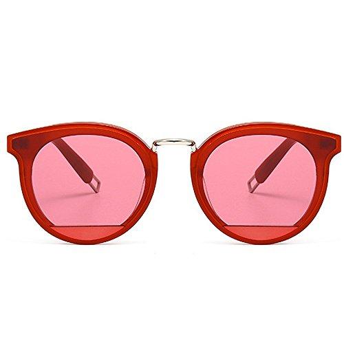 mujer Color de de para de Gafas sol de acetato de Negro Fiesta vacaciones lente Fibra gato Protección Ojos UV de Rojo sol Gafas Marco conducción Nylon qawgxWHntx