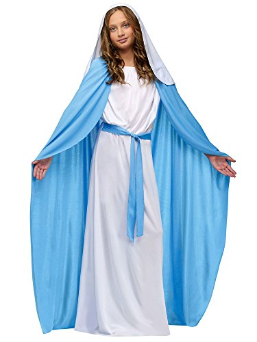 Nativity Mary Child Costume Size 8-10 Medium ()