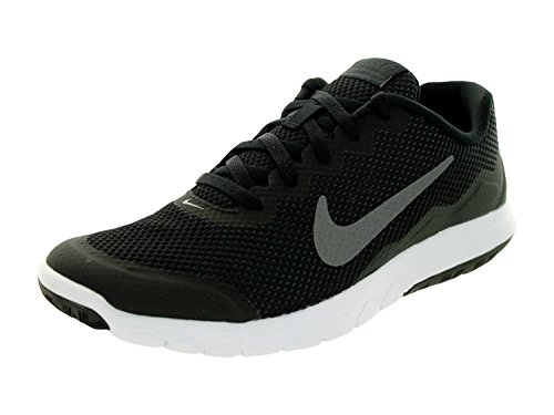 Nike Flex Experience RN 4 Running Shoe, Black/Mtlc Drk Gry/Anthracite/White, 39 B(M) EU/5.5 B(M) UK