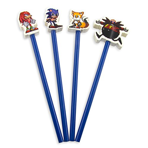Sonic Pencil Topper Erasers