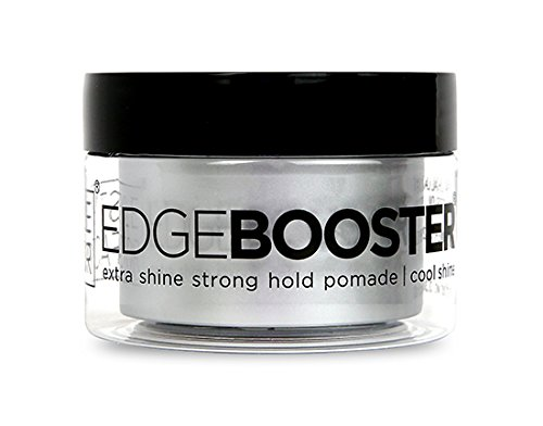 Style Factor Edge Booster Strong Hold Water-Based Pomade 3.38oz - Cool Shine Scent ()