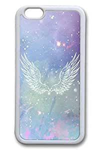 Angel Wings Slim Soft Cover for iPhone 6 Plus Case ( 5.5 inch ) TPU White Cases
