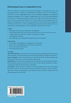 Methodological Issues of Longitudinal Surveys: The Example of the National Educational Panel Study