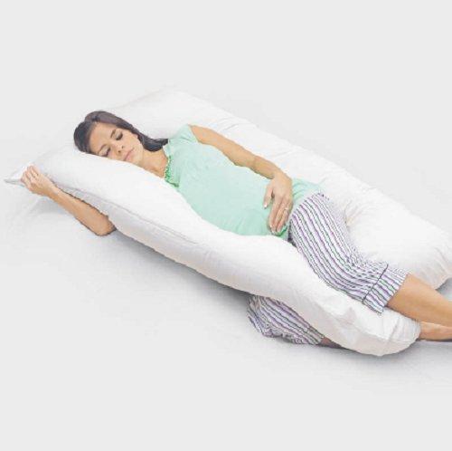 Mummy barriga forma de U almohada de cuerpo completo ...