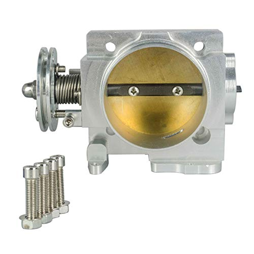 Throttle Body, Electronic Throttle Body Throttle Body fit for Subaru WRX EJ20 EJ25 02-05 70mm Throttle Body: