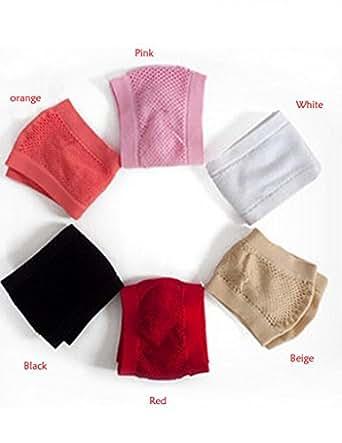 Papaya Wear Women's Seamless Wire Free Sports Bras(Black,Free size)