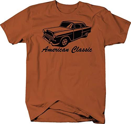 American Classic 1955 56 57 58 59 Chevy Bel Air Custom Classic Tshirt - 2XL Bel Air Classic Car T-shirt