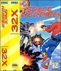 Space Harrier [Sega Megadrive]