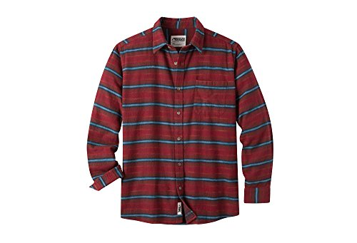 Mountain Khakis Lundy Flannel Shirt - Men's - Malbec, Medium (5 Flannel Oz Shirt)