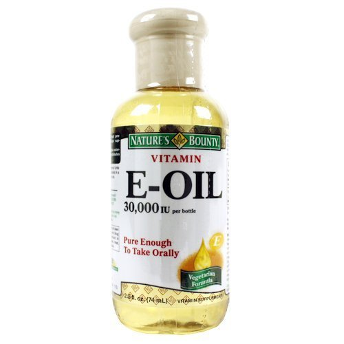 Nb Vit E Oil 30000iu Size 2z Nature'S Bounty Natural Vitamin E-Oil 30,000 Iu, 2.5 Ounce
