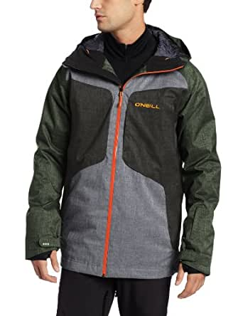 O'Neill Snow Men's Galaxy Jacket, Frontline Green, X-Large