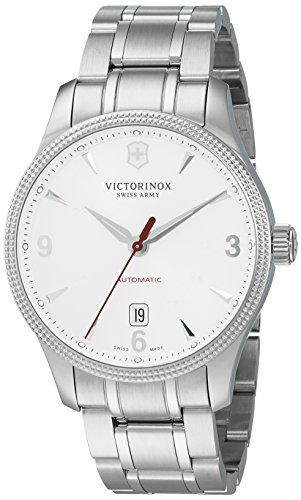 Victorinox Men's 'Alliance' Swiss Stainless Steel Automatic Watch (Model: 241715) ()