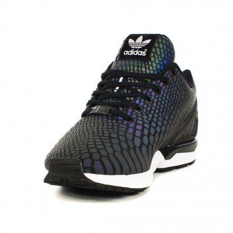 1af7eee38438 adidas ZX Flux Xeno Reflective Core Black (Multicolour B24441) UK Size 7   Amazon.co.uk  Shoes   Bags