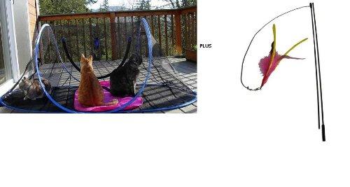 Outdoor Feline Funhouse Plus Da Bird Pull Apart, My Pet Supplies