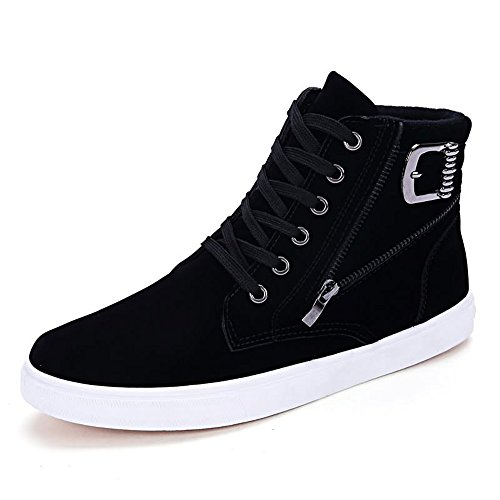 Shufang Nero 40 Uomo Nero Mocassini shoes rtABrO