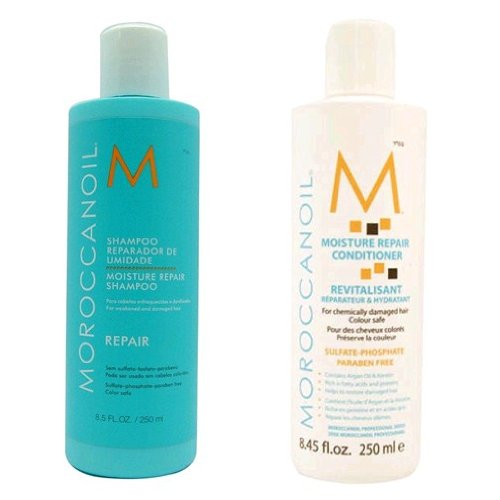 Moroccanoil Moisture Repair Shampoo & Conditioner Combo Set (8,5 oz chacun)