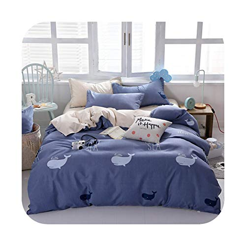 Garlic Broccoli Cartoon Cat Pink Bedding Set Duvet Cover Flat Sheet Bedspread Single Double Queen King Bed Linen for Adult Kids Gift,006,Twin 3pcs