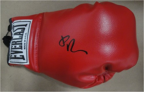 Edgar Ramirez Hand Signed Autographed Everlast Boxing Glove White Pannel Right