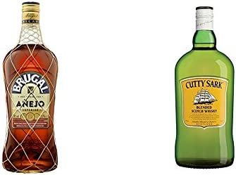 Brugal - Ron Añejo Rones, 1.75 L + Cutty Sark - Whisky ...
