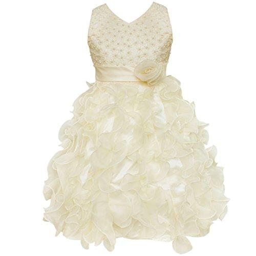 Amazon.com: YiZYiF Kids Girls Wedding Pageant Recital Graduation Bridesmaid Formal Dress: Clothing