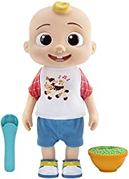 Deluxe Interactive JJ Doll - Includes JJ, Shirt, Shorts, Pair of Shoes, Bowl of Peas, Spoon- Toys for Preschoo