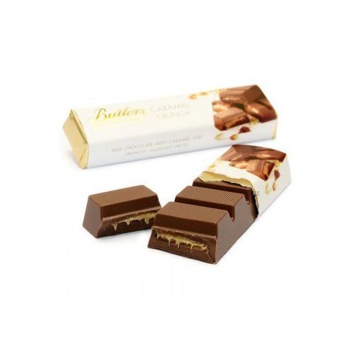 Butlers Chocolate Ireland (Butlers Milk Chocolate Candy Bar with Caramel Crunch (2.64)