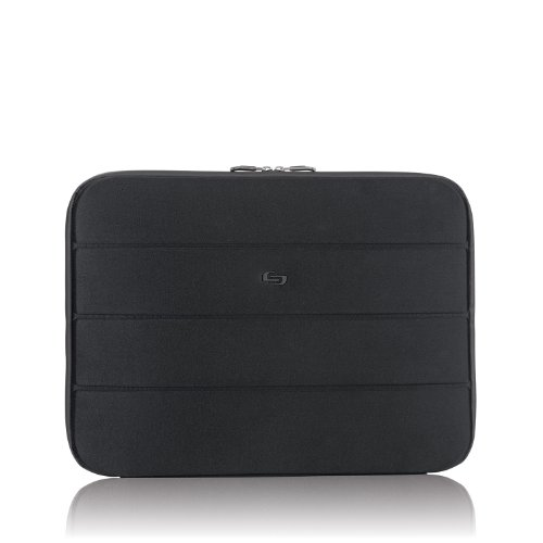 Solo Bond 17.3 Inch Laptop Sleeve, Black
