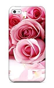 Excellent Design Awesome Roses Case Cover For Iphone 5c