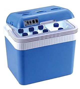 Nevera eléctrica portátil de Progen, mantiene la comida caliente y fría, para picnic y camping, de 24 litros: Amazon.es: Deportes y aire libre