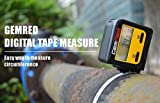 GemRed Digital Retractable Sewing Tape Measure with Circumfence Measure