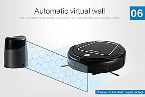 Amazon.com - iSweeper Seebest D730 Robotic Vacuum Cleaner with 2 Layer HEPA Filters Wet Mopping(Black) -