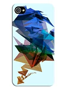 Fashionable 3d Patterned Phone Case/cover/shell for Iphone 4/4s