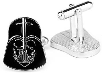 Fashion Star wars Darth Vader design Cufflinks men shirt Cufflinks