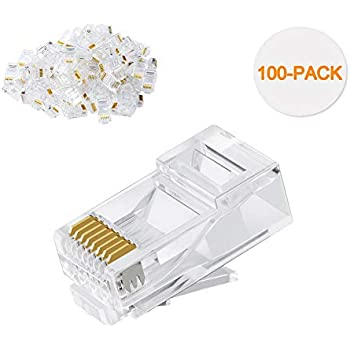 Enjoyable Amazon Com Startech Com Cat 6 Rj45 Modular Plug For Solid Wire 50 Wiring 101 Ferenstreekradiomeanderfmnl