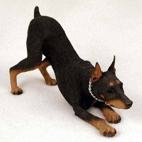 (Doberman Figurine Red MyDog)