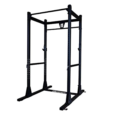 Rugged Fitness Full Commercial Power Rack, 1000 lb Capacity, Heavy-Duty 2×3 11-gauge steel