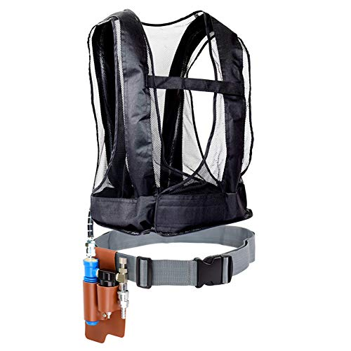 (Vortex Cooling Vest with Cooler for Long Spray Painting Sandblasting Operations and Welding Operation Keep Workers in A Good Climate Make Comfortable Worked by Compressed Air WEUN 001 Type)