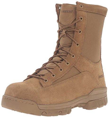 Bates Men's Ranger Hot Weather Coyote Comp Toe Military and Tactical Boot - stylishcombatboots.com