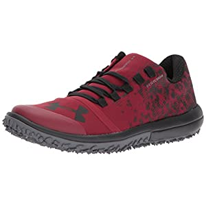 Under Armour Men's Speed Tire Ascent Low, Cardinal (600)/Rhino Gray, 10.5