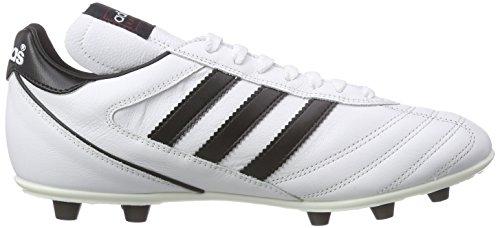 adidas Kaiser 5 Liga - Botas para hombre, color blanco / negro