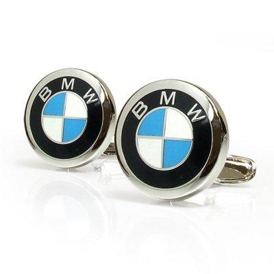 - BMW Roundel Logo Cuff Links
