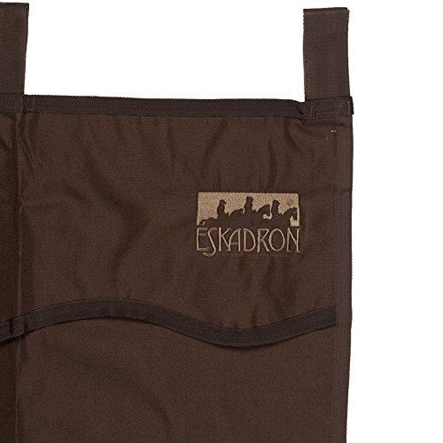 ESKADRON Boxenvorhang, schokolade, one size