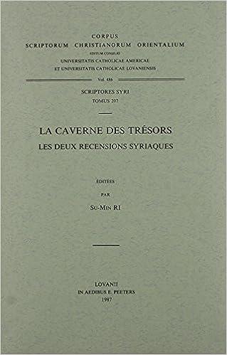 huge discount 130ff 96622 Les deux recensions syriaques. Syr. 207. (Corpus Scriptorum Christianorum  Orientalium)  R Su-Min Ri  9789042905276  Amazon.com  Books