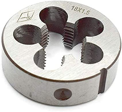 uxcell Steel 14mm Thickness Metric M14 x 1.5mm Screw Thread Round Die Tool